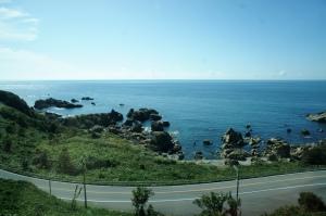 五能線の海岸